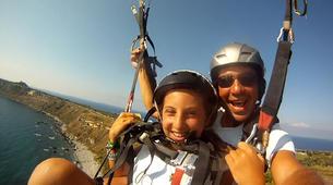 Paragliding-Agrigento-Tandem paragliding flight in Agrigento, Sicily-3