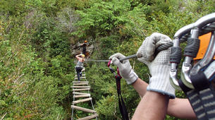 Via Ferrata-Ariege-Multi-activity package in Ariège - Canyoning, Climbing, Caving-3