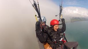 Paragliding-Vik i Myrdal-Tandem paragliding flight over Vik i Myrdal, Iceland-10