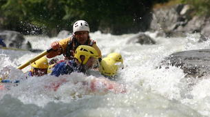 Rafting-Courmayeur-Rafting down the Dora Baltea River in Courmayeur-4