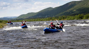 Rafting-Hardangervidda National Park-Duckies down the Numedalslågen in Norway-2
