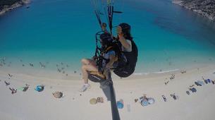Paragliding-Kefalonia-Tandem paragliding flight over Kefalonia-4