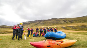 Rafting-Northeastern Region of Iceland-Whitewater excursion down the East Glacial River, Northeastern Region of Iceland-2