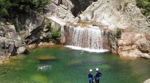 Canyoning-Bavella-Canyon of Purcaraccia in Bavella, Corsica-3