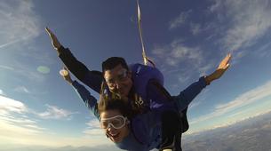Parachutisme-Cannes-Saut en Parachute Tandem de 4000m à Cannes-4