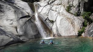 Canyoning-Bavella-Canyon of Purcaraccia in Bavella, Corsica-1