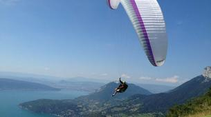Paragliding-Annecy-Tandem paragliding flight over Annecy's Lake-6