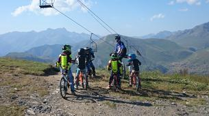 Vélo de Descente-Les Deux Alpes-Initiation au VTT de descente aux 2 Alpes-2