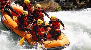 Rafting-Thonon-les-Bains-Descente en rafting de la Dranse à Thonon les Bains-1
