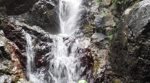 Canyoning-Font Romeu-Thermal water canyon of Thuès, near Font-Romeu-1