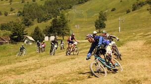 Mountain bike-Les Deux Alpes-Initiation au VTT de descente aux 2 Alpes-1