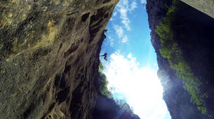 Canyoning-Omis-Extreme canyon of Cetina River in Omis, Dalmatia-3