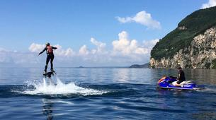 Flyboard / Hoverboard-Lac de Garde-Try flyboarding in Tignale, Lake Garda-1