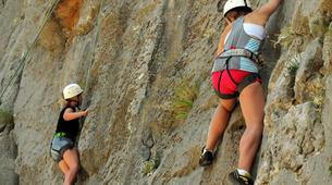 Rock climbing-Omis-Rock climbing in Omis, Dalmatia-4