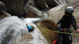 Canyoning-Ardèche-Canyoning dans les Gorges du Haut Chassezac, Ardèche-1