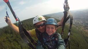 Parapente-Millau-Vol Acrobatique en Parapente au-dessus à Millau-2