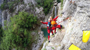 Canyoning-Omis-Extreme canyon of Cetina River in Omis, Dalmatia-5
