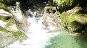 Canyoning-Annecy-Canyon Initiation de Montmin à Annecy-4