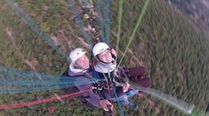 Parapente-Millau-Vol Acrobatique en Parapente au-dessus à Millau-6