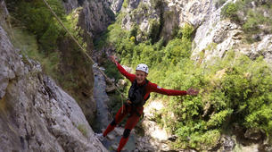 Canyoning-Omis-Extreme canyon of Cetina River in Omis, Dalmatia-6