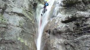 Canyoning-Annecy-Canyon Découverte et Sportif d'Angon à Annecy-5