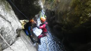 Canyoning-Aveyron-Discovery canyon Cornillou in Aveyron-2