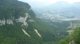 Via Ferrata-Chambéry-Via Ferrata of Jules Carret in the Bauges Massif near Chambery-5