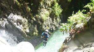Canyoning-Annecy-Canyon Initiation de Montmin à Annecy-3