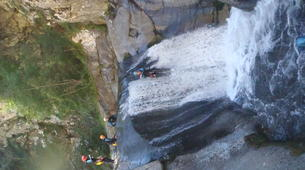 Canyoning-Prades-Canyon des Gorges du Llech, près de Prades-3
