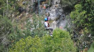 Zip-Lining-Ponga-Ziplining circuits in Ponga Natural Park-2