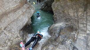 Canyoning-Annecy-Canyon Sportif de Montmin à Annecy-1