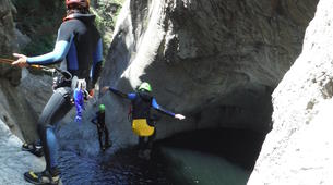 Canyoning-Céret-Canyon of Les Anelles in Ceret, near Costa Brava-3