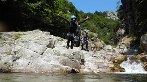 Canyoning-Ardeche-Canyon of Gorges du Haut Chassezac, Ardeche-5