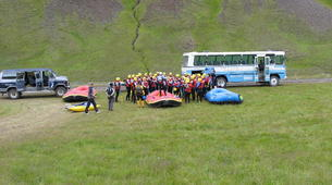 Rafting-Northwestern Region of Iceland-Extreme rafting down the East Glacial River, Northwestern Region of Iceland-12