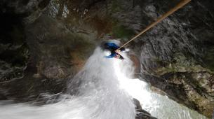Canyoning-Annecy-Canyon Découverte et Sportif d'Angon à Annecy-2