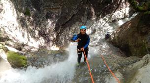 Canyoning-Annecy-Canyon Découverte ou Sportif d'Angon à Annecy-4