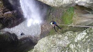 Canyoning-Annecy-Canyon Initiation de Montmin à Annecy-6