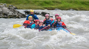 Rafting-West Glacial River-Rafting down the West Glacial River, Northwestern Region of Iceland-1