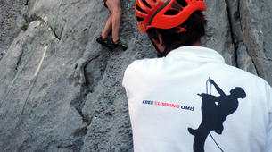 Rock climbing-Omis-Rock climbing in Omis, Dalmatia-3