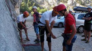 Rock climbing-Omis-Rock climbing in Omis, Dalmatia-2