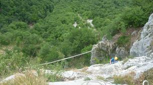 Via Ferrata-Chambéry-Via Ferrata of Jules Carret in the Bauges Massif near Chambery-3