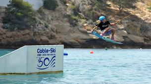 Wakeboard-Benidorm-Wakeboarding session (4 towers cable) in Benidorm, Costa Blanca-4