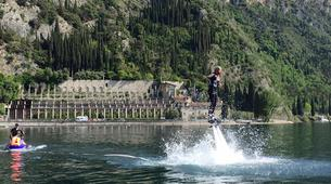 Flyboard / Hoverboard-Lac de Garde-Try flyboarding in Tignale, Lake Garda-6