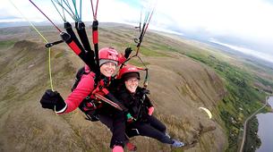 Paragliding-Reykjavik-Tandem paragliding flight over Reykjavík, Iceland-3