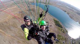 Paragliding-Reykjavik-Tandem paragliding flight over Reykjavík, Iceland-1
