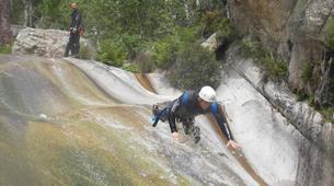 Canyoning-Bavella-Canyon of Purcaraccia in Bavella, Corsica-6