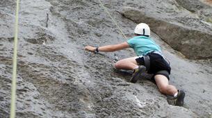 Rock climbing-Omis-Rock climbing in Omis, Dalmatia-5