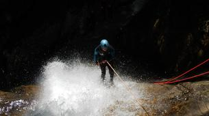 Canyoning-Annecy-Canyon Découverte et Sportif d'Angon à Annecy-1