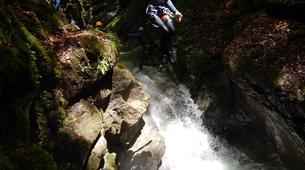 Canyoning-Annecy-Canyon Découverte et Sportif d'Angon à Annecy-4