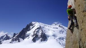 Rock climbing-Chamonix Mont-Blanc-Escalade dans le massif du Mont Blanc, Chamonix-1